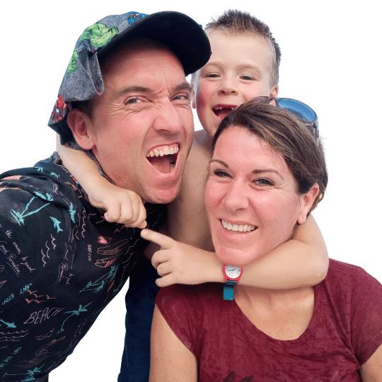 Happy Health Academy Jorine Kuiper met gezin